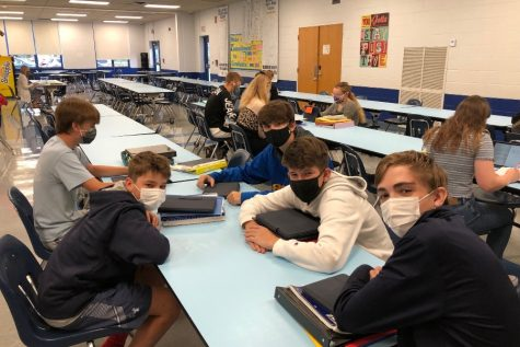Students at B-A began adjusting to new mask mandates on Tuesday with no disruptions.