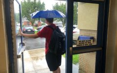 Bellwoood-Antis students left school early on Wednesday to get ahead of the heavy rains that have come to the area as a result of Hurricane Ida.
