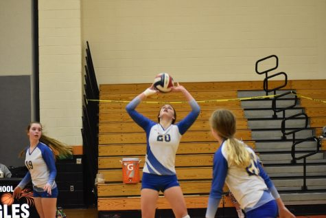Hailee McConnel passed out her 500th career assist last night.