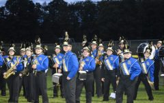 The marching band challenged itself this year with a custom arrangement based off science fiction movies.