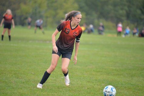 Sophia Nelson has had a very successful senior season